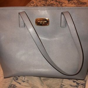 Baby blue Michael Kors small Tote
